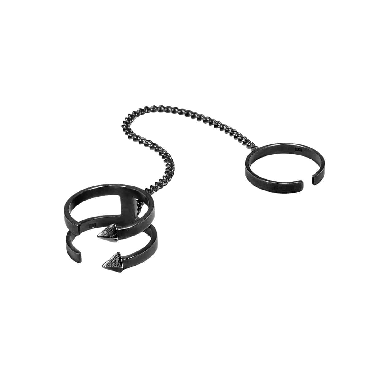 FENCE rings(BLACK)