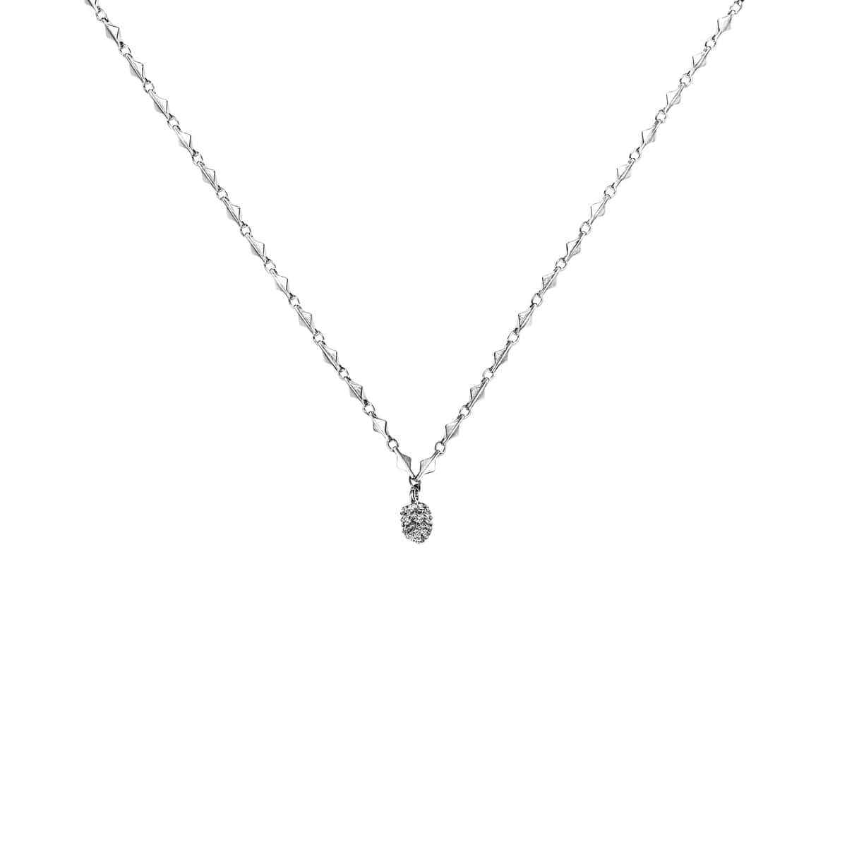 PINE TREE necklace(WHITE)